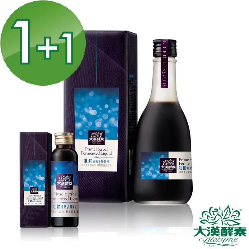 【大漢酵素】壯齡植蔬多醱酵液(360mlx1+60mlx1)
