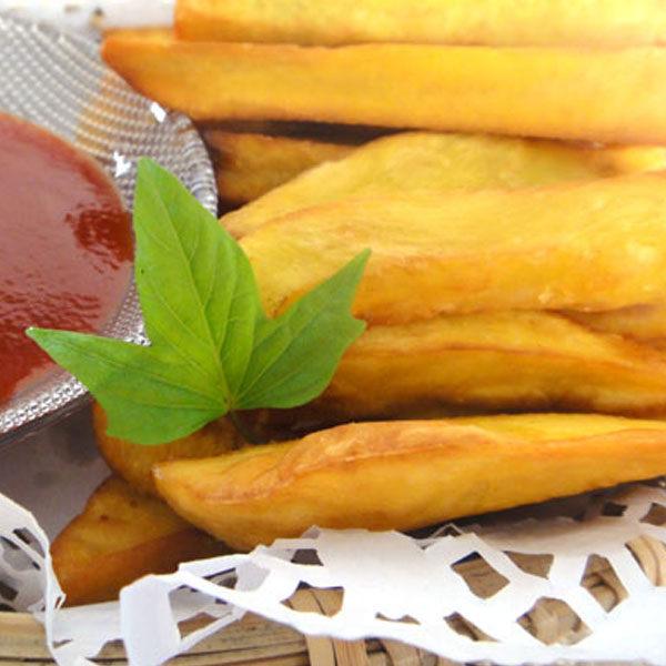《水林》地瓜薯條(1kg/包,共兩包)