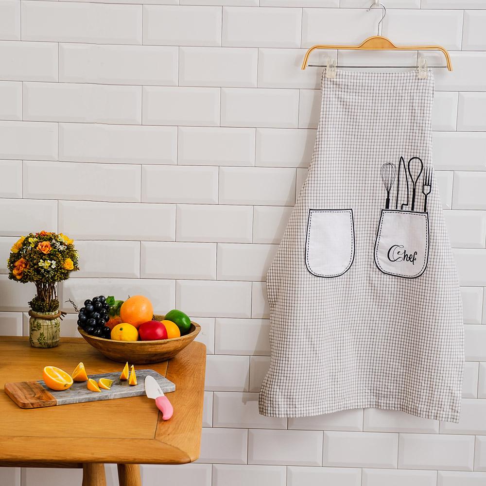 Chef圍裙90x60cm-生活工場