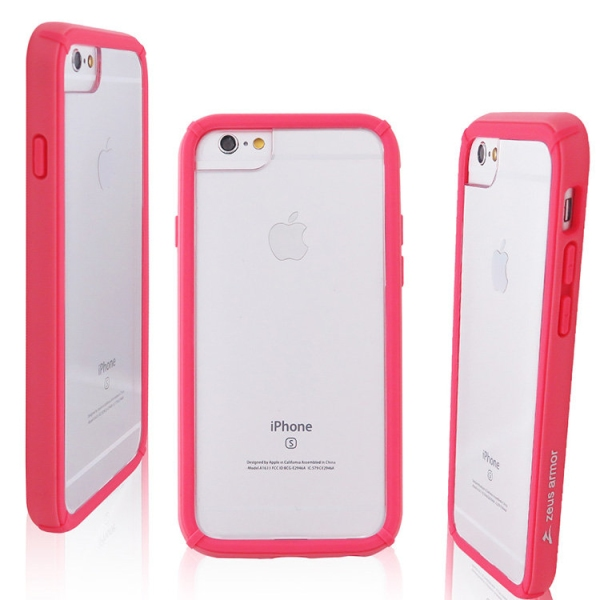 iPhone 6/ 6S/ 7/ 8 Plus (5.5吋) 波塞頓系列 耐撞擊雙料防摔殼(粉紅)