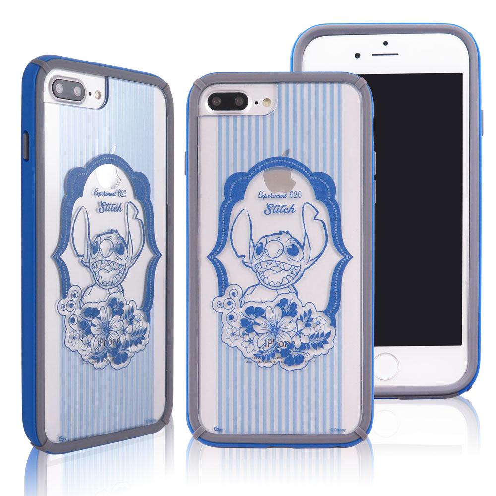 迪士尼│宙斯鎧甲 iPhone 6/6s/7/8 Plus(5.5吋)防摔殼_經典復古 史迪奇