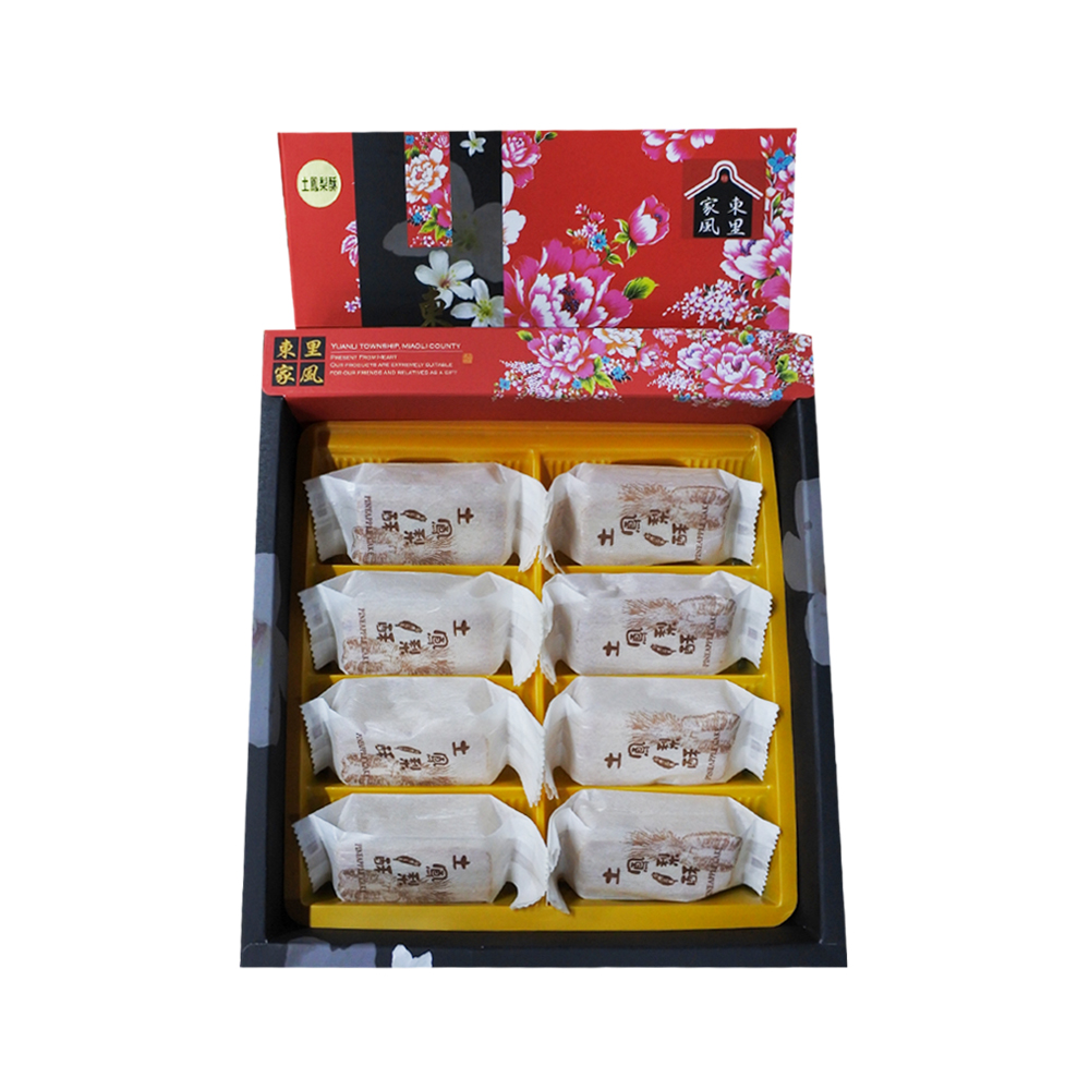 【東里家風】東里家風 土鳳梨酥禮盒(8塊裝)