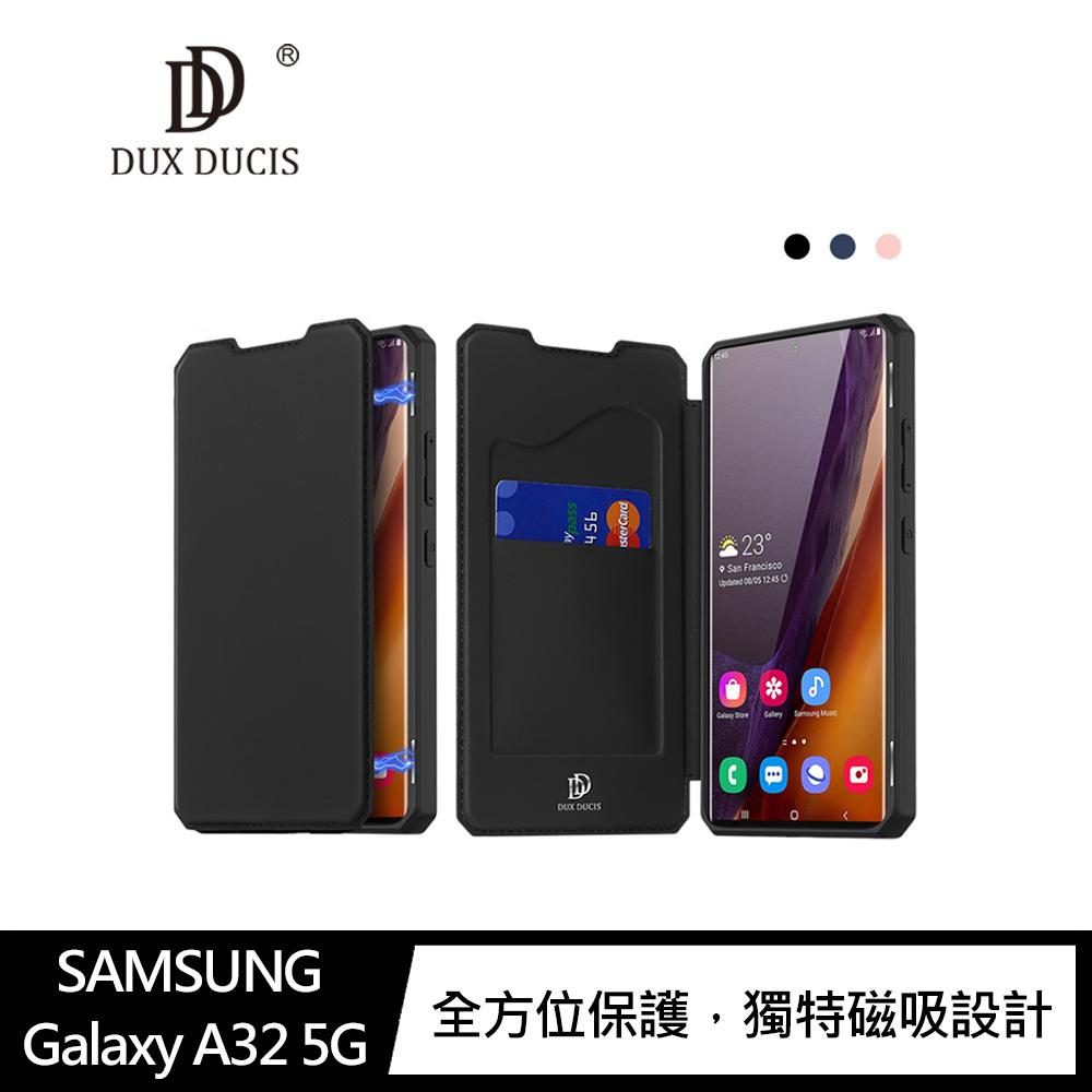 DUX DUCIS SAMSUNG Galaxy A32 5G SKIN X 皮套(藍色)