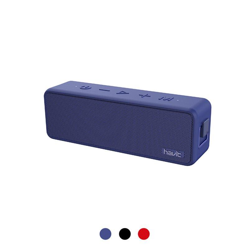 【Havit 海威特】M76重低音防水藍牙喇叭-藍色