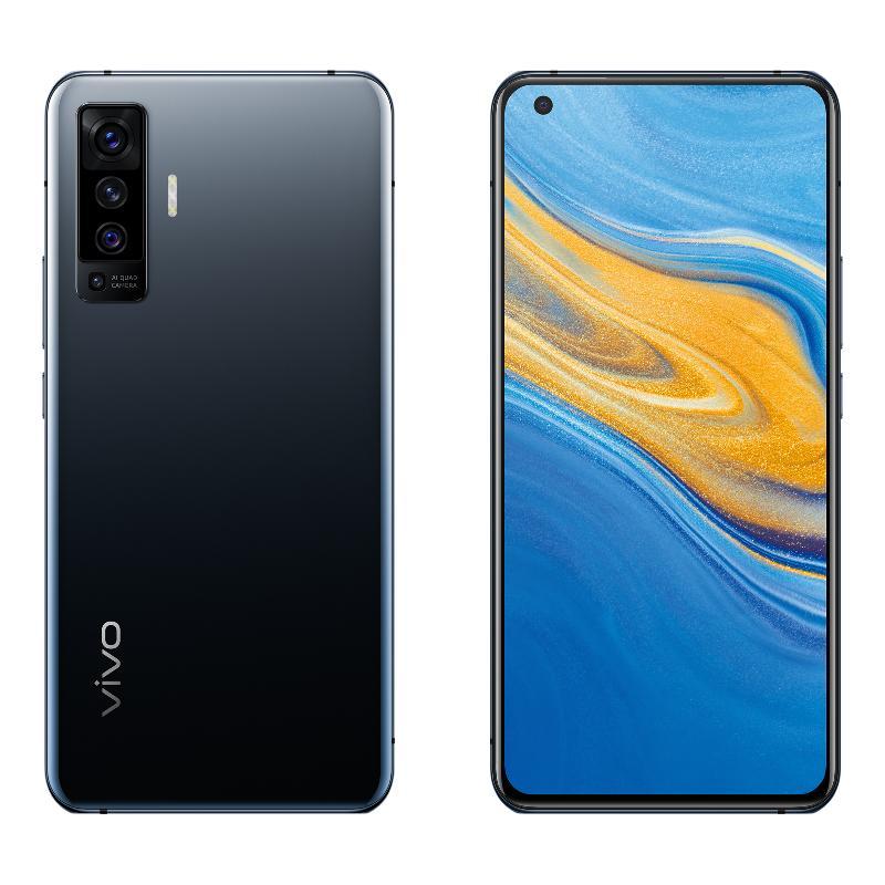 vivo X50(8G/128G) 釉光黑【新機上市 贈指紋變色杯】