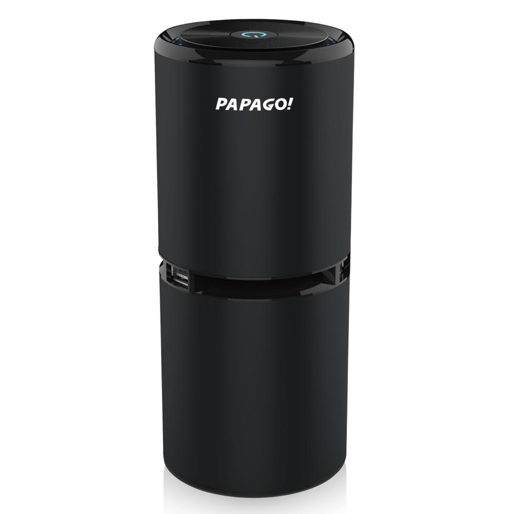 PAPAGO Airfresh S06D 空氣淨化器-紳士黑+擦拭布