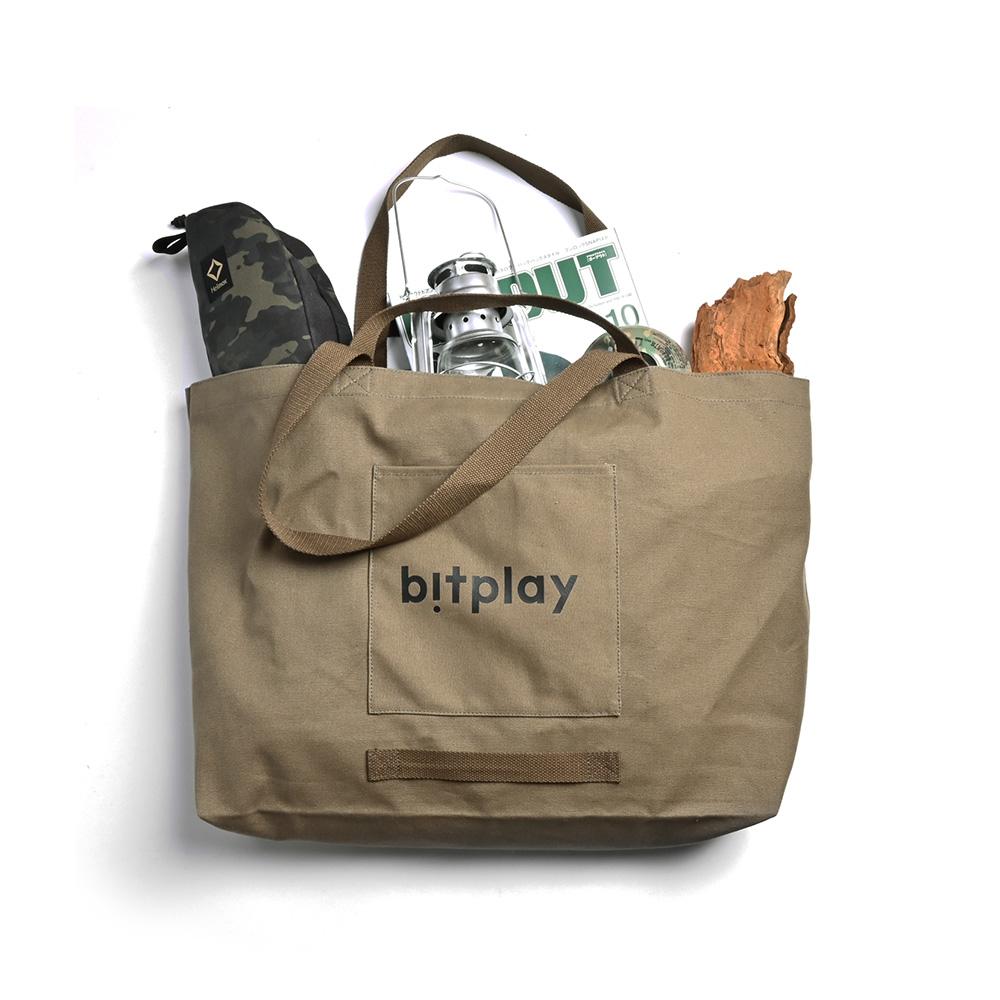 bitplay Oversize Tote Bag 超大容量托特包-橄欖綠