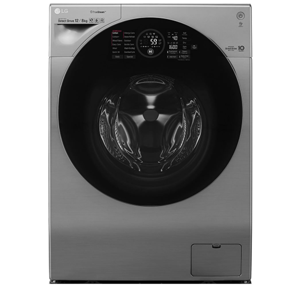 LG樂金12公斤 滾筒洗衣機 蒸氣洗脫烘 WIFI/SMART功能 WD-S12GV