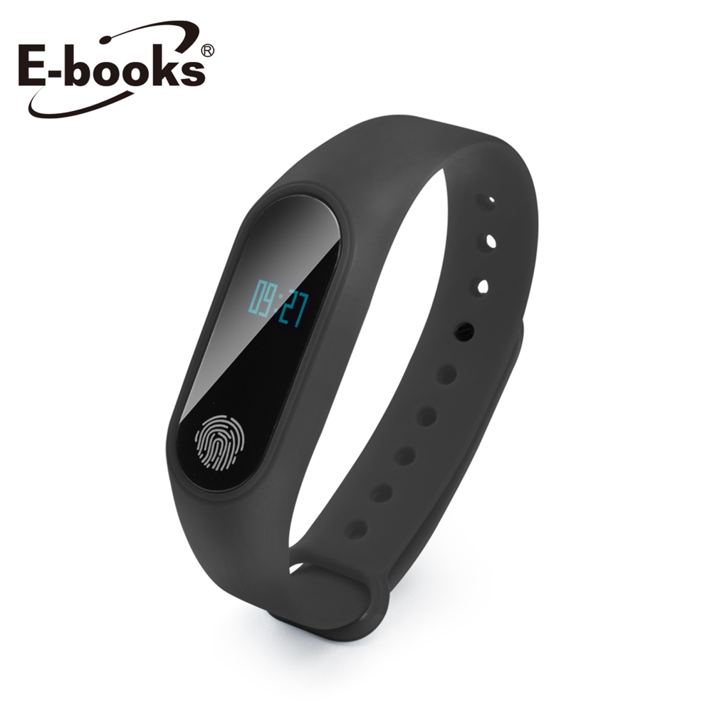 【贈品】E-books 健康運動藍牙智慧手環- V4