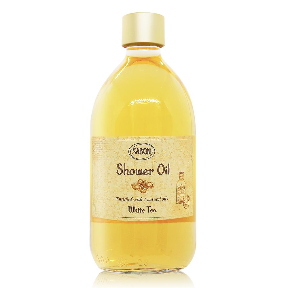 SABON 白茶沐浴油(500ml)-國際航空版