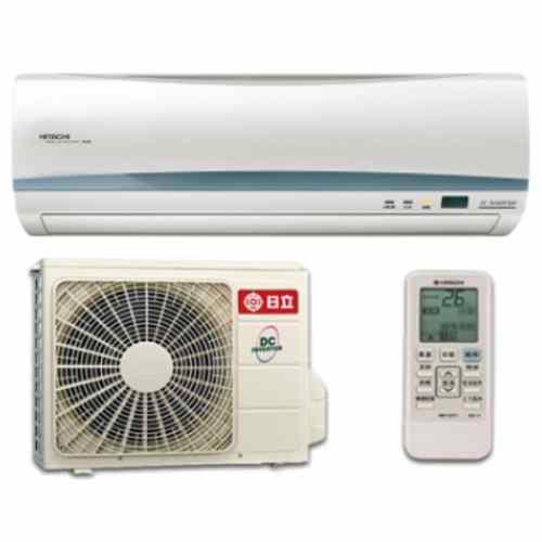 ★含標準安裝★【日立】變頻一對一分離式冷氣RAC-50QK1/RAS-50QK1《8坪》
