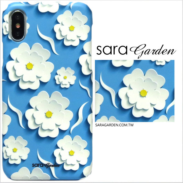 【Sara Garden】客製化 手機殼 蘋果 iphone5 iphone5s iphoneSE i5 i5s 保護殼 硬殼 紙雕碎花