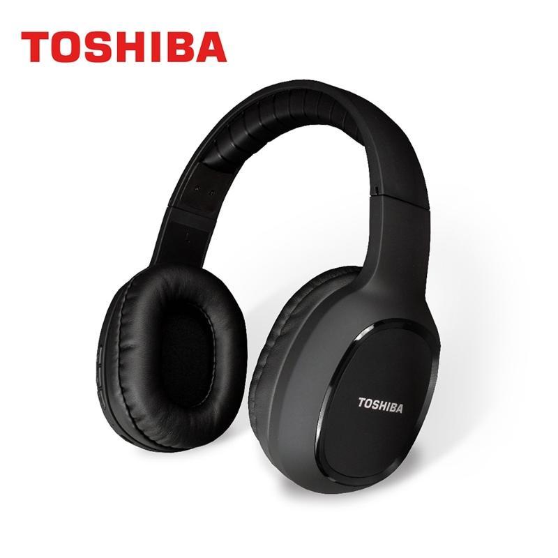 TOSHIBA 和風輕量耳罩式藍芽耳機麥克風 RZE-BT160H