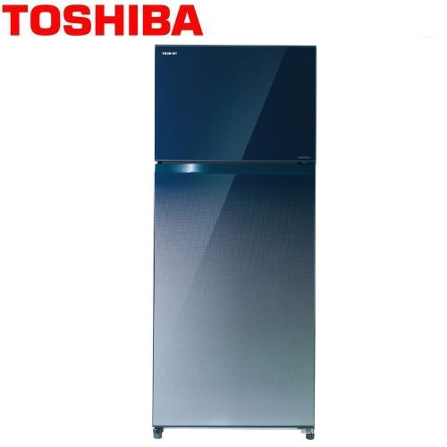 【TOSHIBA東芝】505L變頻無邊框玻璃電冰箱 漸層藍 GR-HG55TDZ(GG)