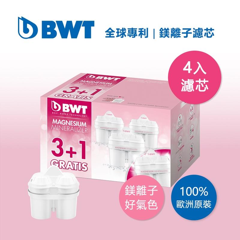 【BWT德國倍世】【台灣總代理】Mg2+鎂離子長效濾芯 環保包 3+1入