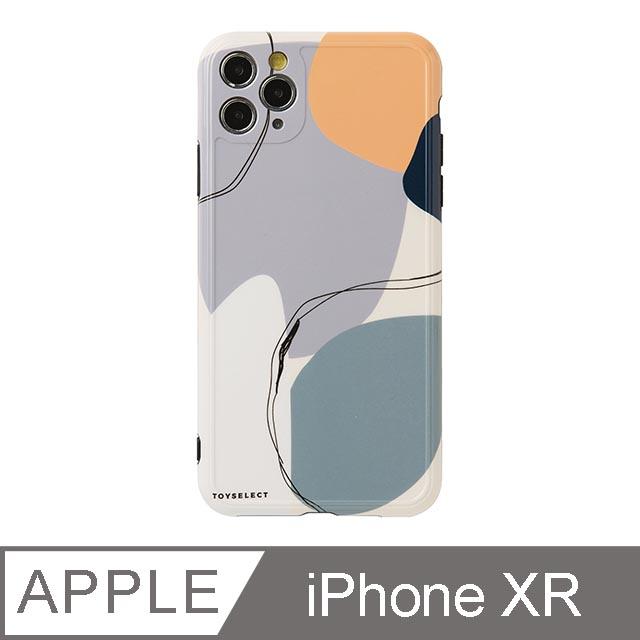 iPhone XR 6.1吋 Smilie藝術時空迴廊iPhone手機殼 藍紫夢境