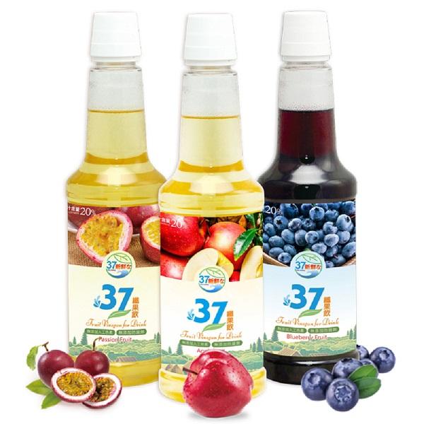 預購《老爸ㄟ廚房》37纖果飲禮盒(1.1kg/瓶/2瓶/盒)(蘋果)