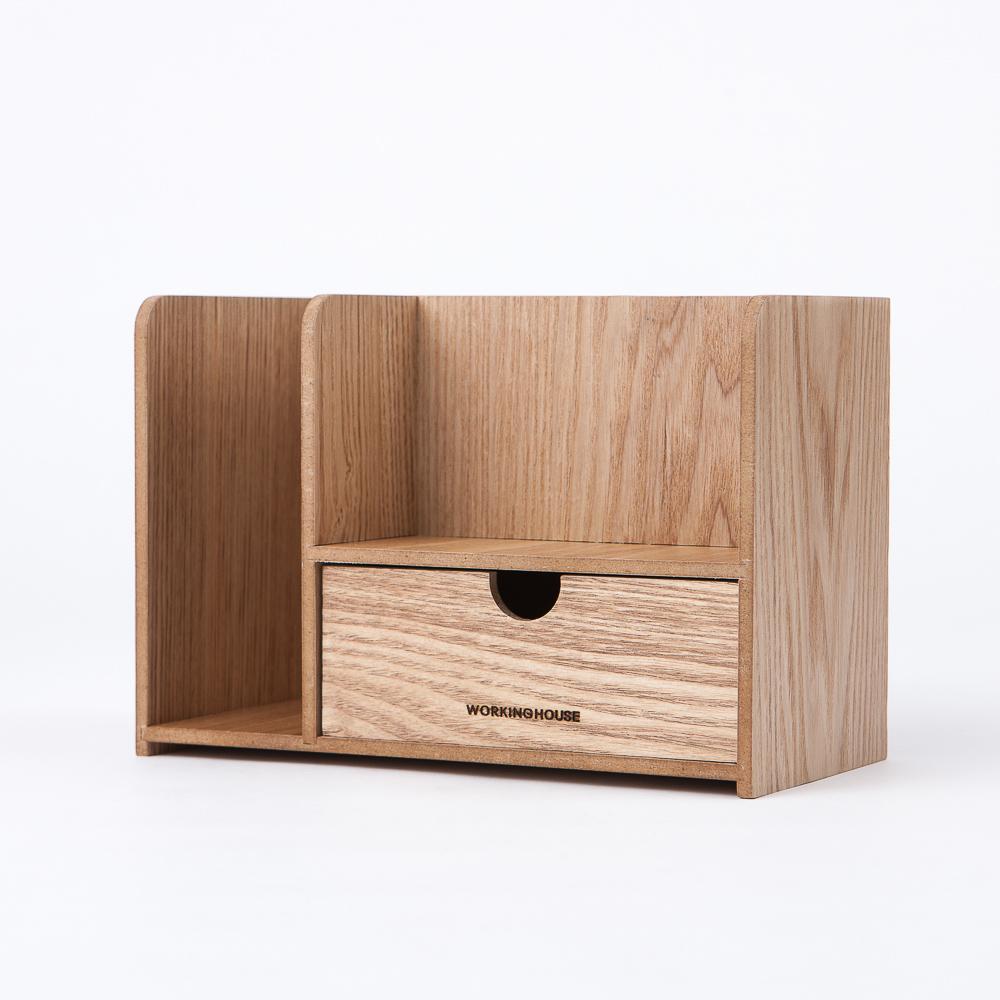 木質森活雜物收納盒-生活工場