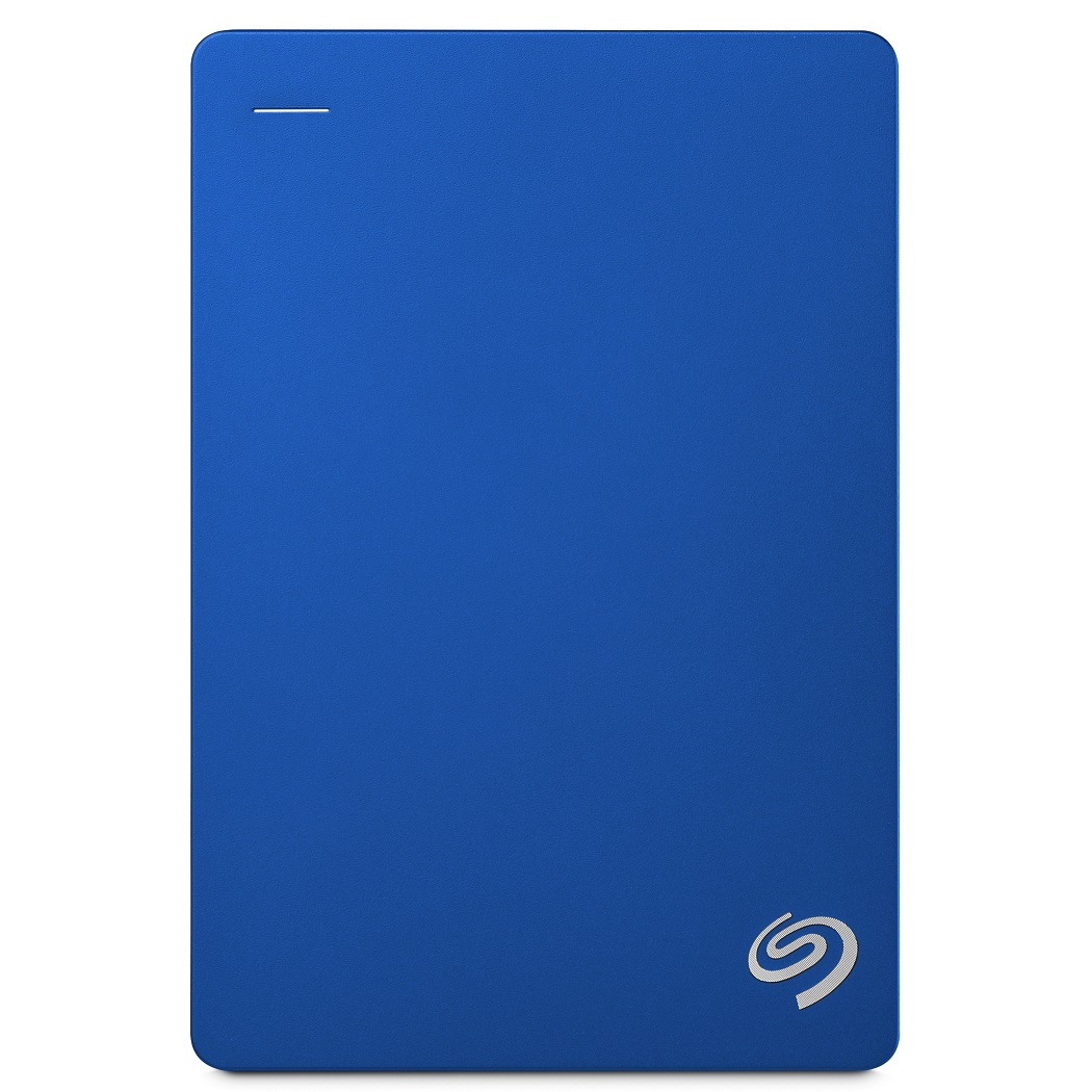 Seagate Portable Backup Plus 5TB 2.5吋可攜式行動硬碟-(藍)