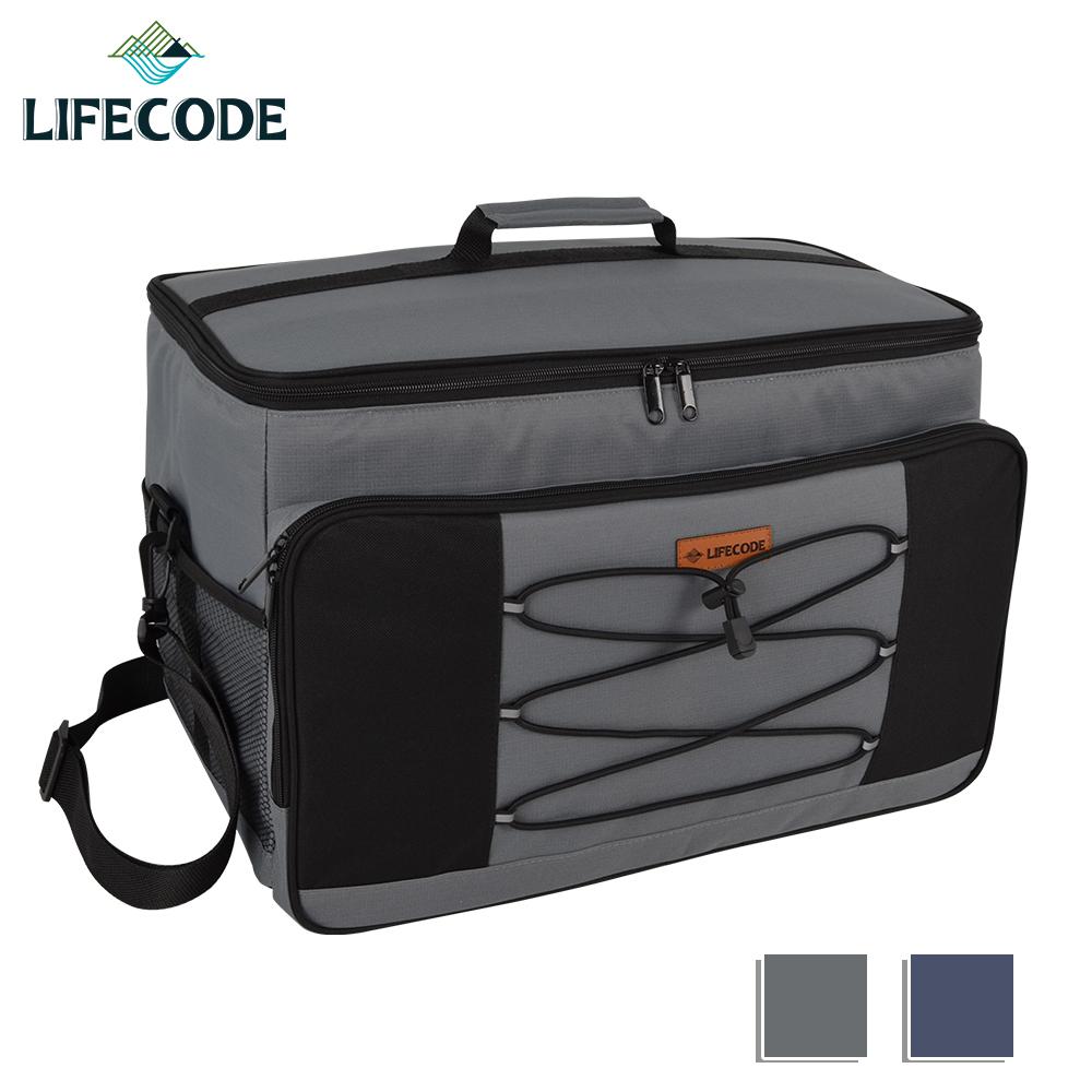 【LIFECODE】大歐風保冰袋-XL號(35L)-灰色