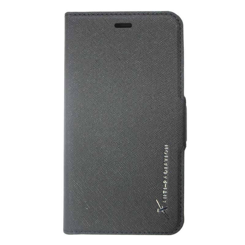 MOXIE 防電磁波手機皮套 iPhoneXs 十字紋黑