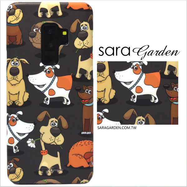 【Sara Garden】客製化 手機殼 OPPO R15 保護殼 硬殼 可愛毛小孩狗狗