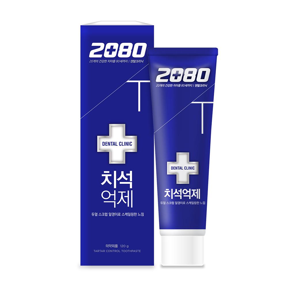 【韓國2080】牙石(垢)抑制牙膏120gX16入