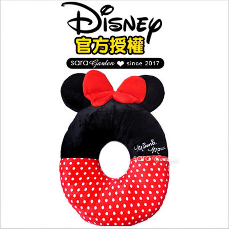 正版 迪士尼 Disney 米妮 刺繡 刺繡 坐墊 靠枕 午睡枕 抱枕 靠枕 汽車 辦公室 柔軟 絨毛 交換 禮物 送禮 禮品