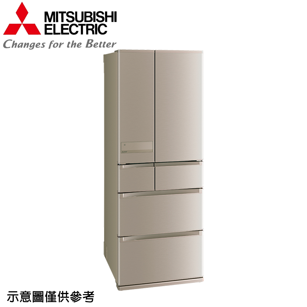 ★限量下殺★【MITSUBISHI 三菱】605公升日本原裝變頻六門冰箱MR-JX61C-N