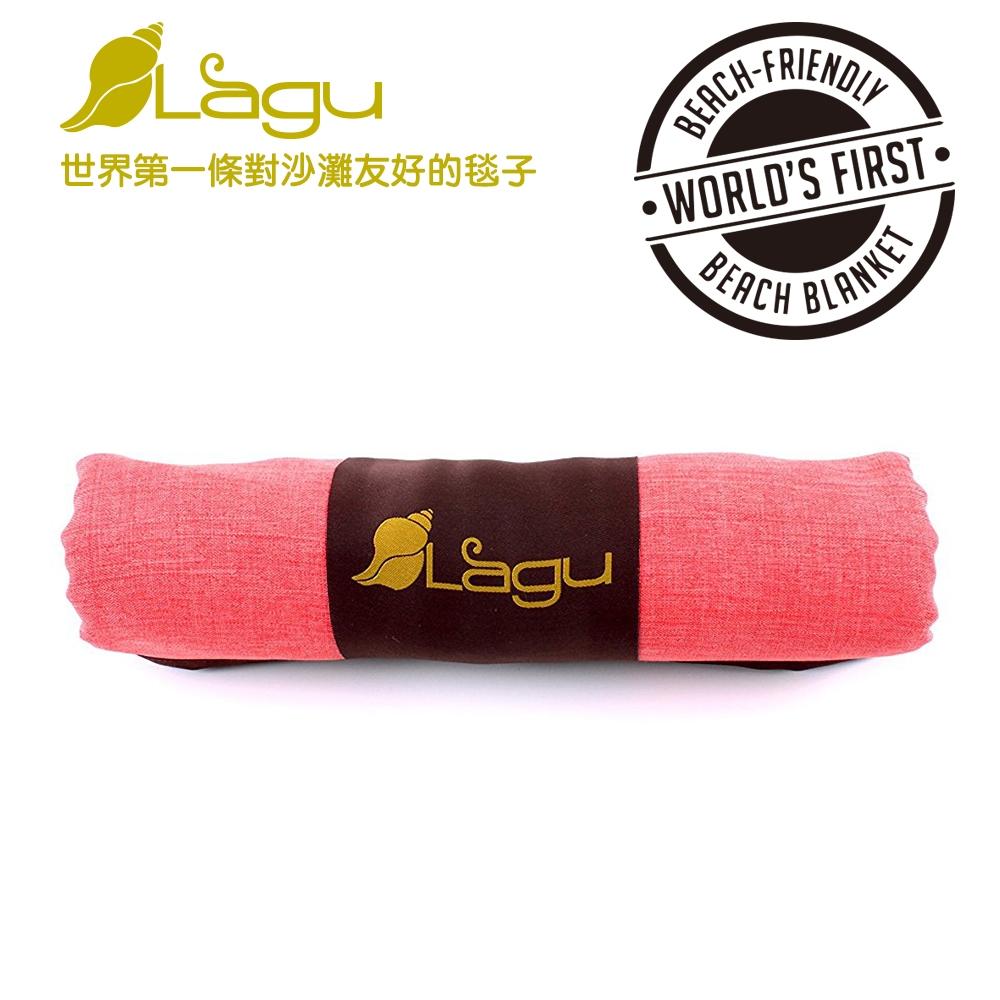 【澳洲Lagu】快乾防沙毯 (粉橘)