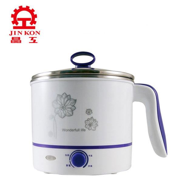 晶工牌1.5L多功能不鏽鋼美食鍋JK-102