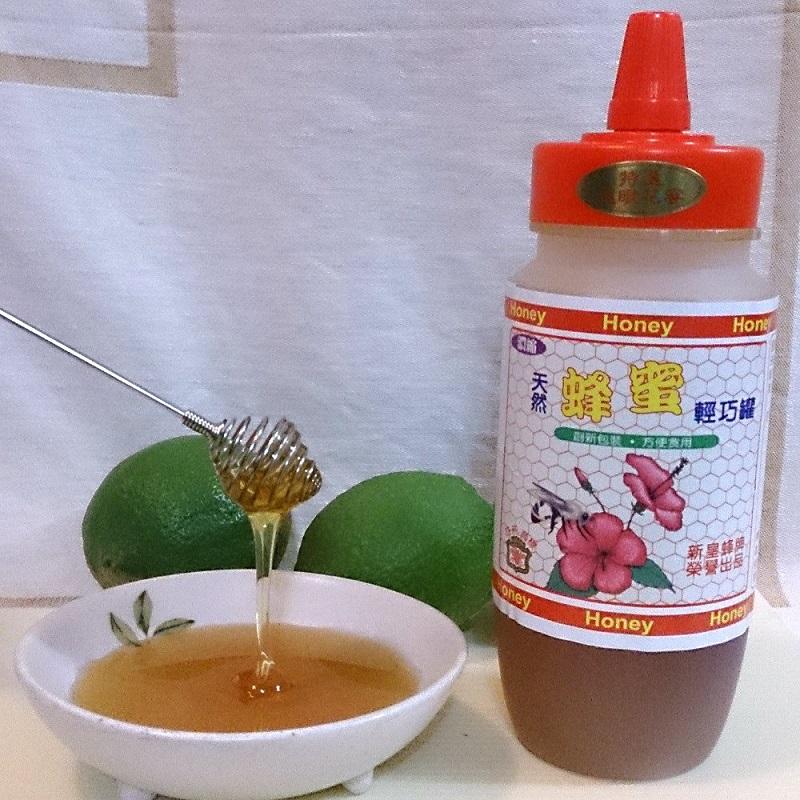 【綠安生活】皇蜂牌龍眼花蜜輕巧罐4罐(500g/罐)