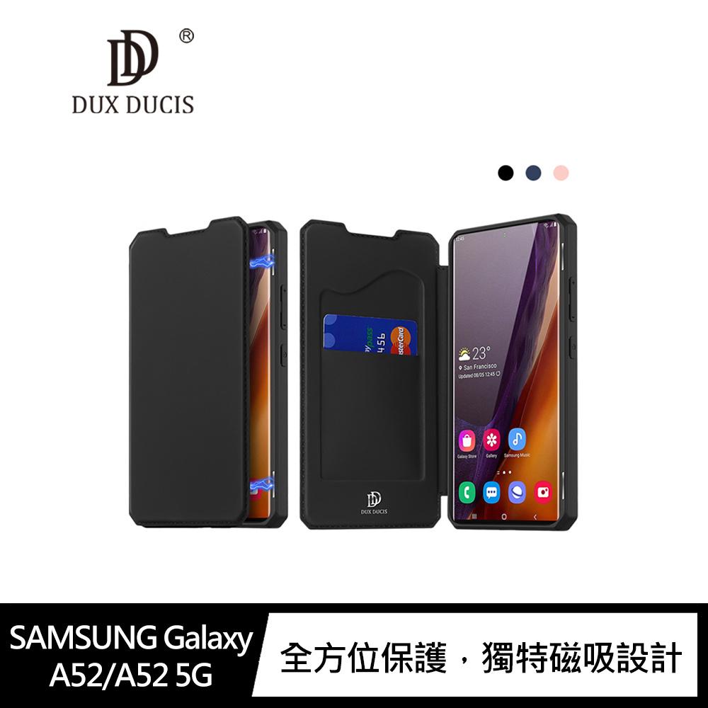 DUX DUCIS SAMSUNG Galaxy A52/A52 5G SKIN X 皮套(藍色)
