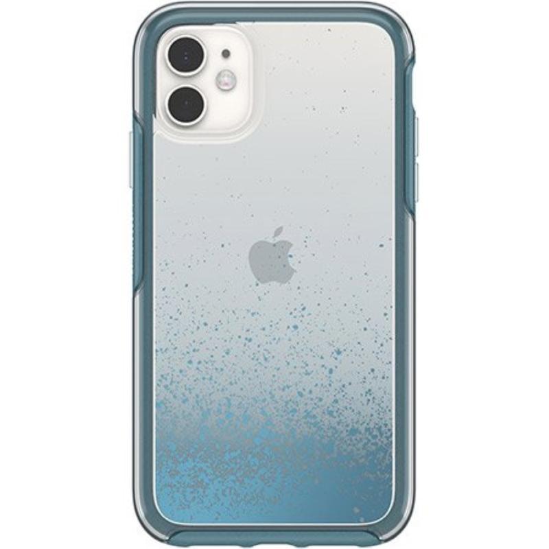 OtterBox 炫彩幾何透明保護殼iPhone 11 6.1 透藍