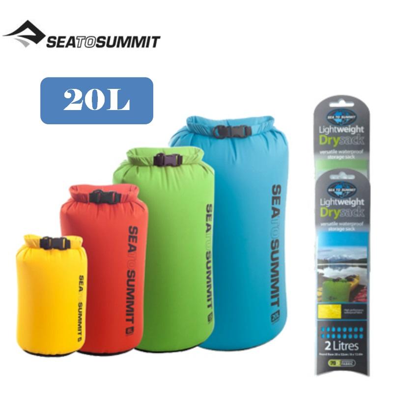 【Sea To Summit】20公升(黃)70D輕量防水收納袋