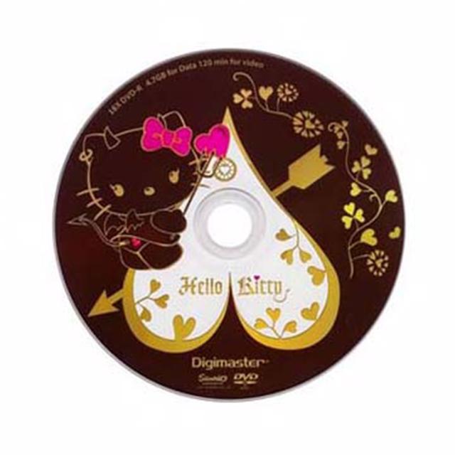 Kitty 淘氣惡魔版(DVD-R)25入布丁桶