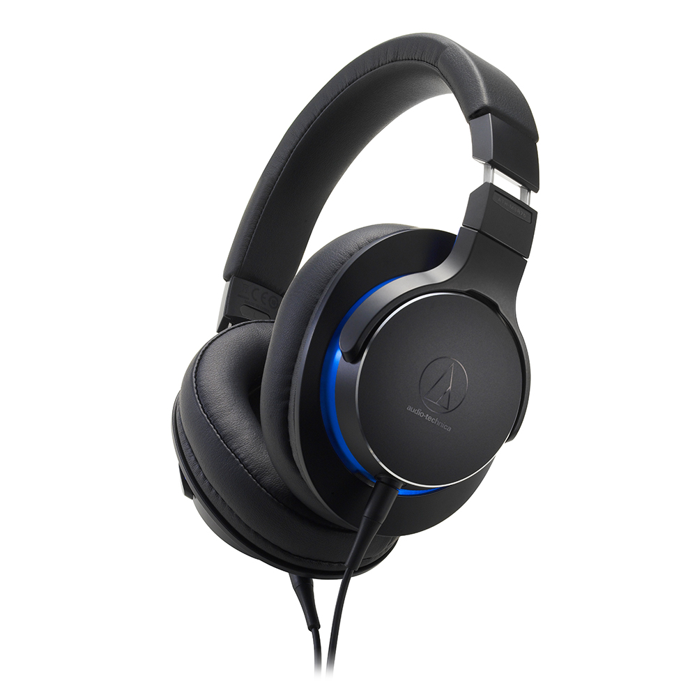 鐵三角 ATH-MSR7b 黑色 4.4㎜平衡導線 耳罩式耳機