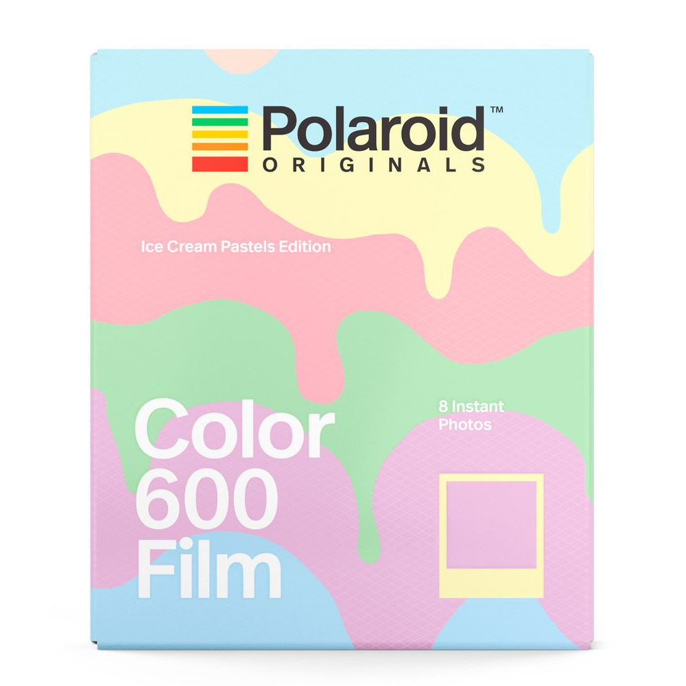 Polaroid Color Film for 600 彩色底片(冰淇淋粉彩版)/2盒 4847
