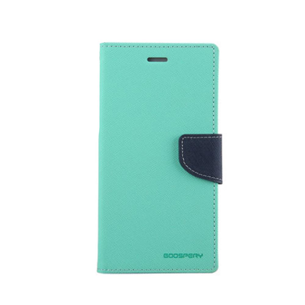 GOOSPERY HTC Desire 12+ FANCY 雙色皮套(淺綠藍)