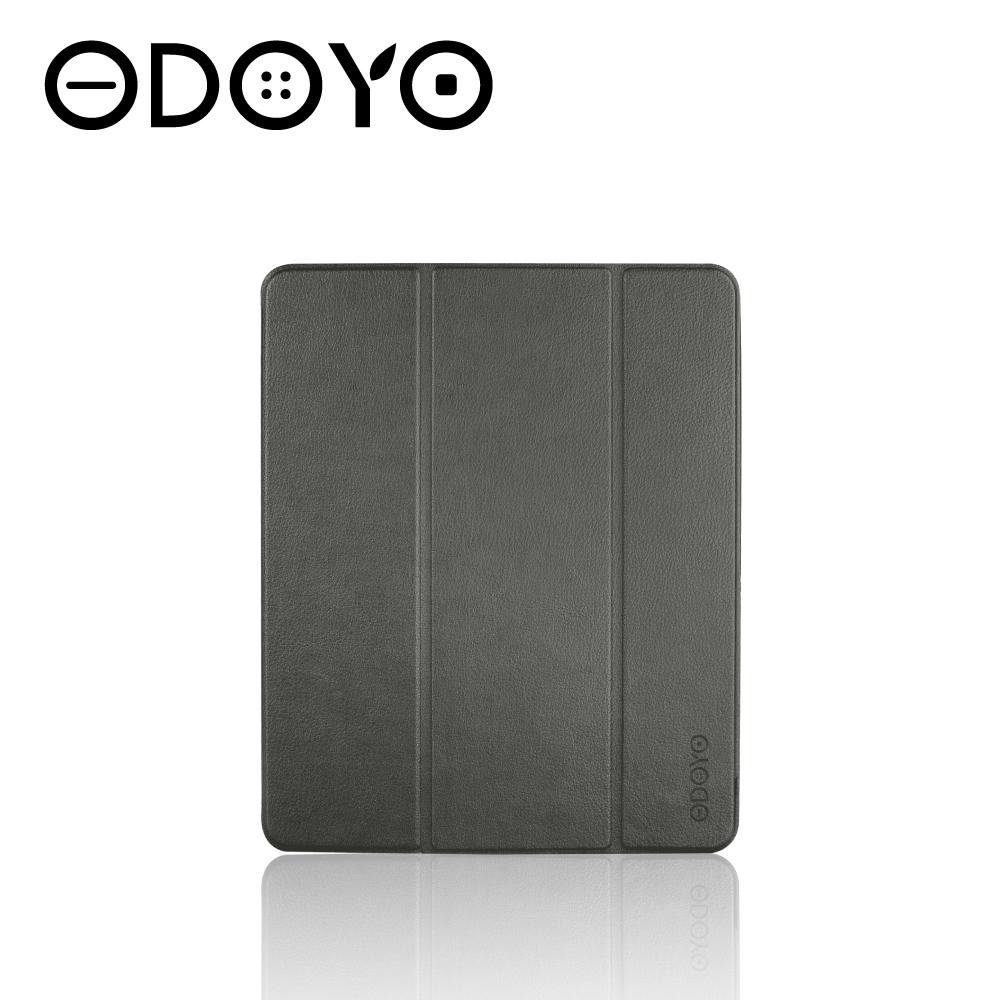 ODOYO iPad Pro 12.9吋智慧休眠超纖細保護套(2020)石英灰