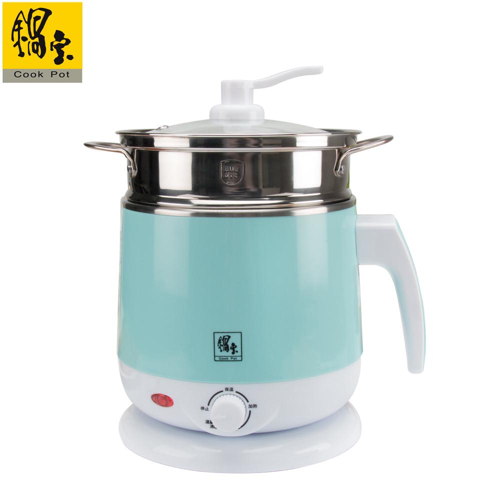 【鍋寶】316雙層防燙美食鍋-2.2L(附蒸籠) EO-BF9220B1603QQY0