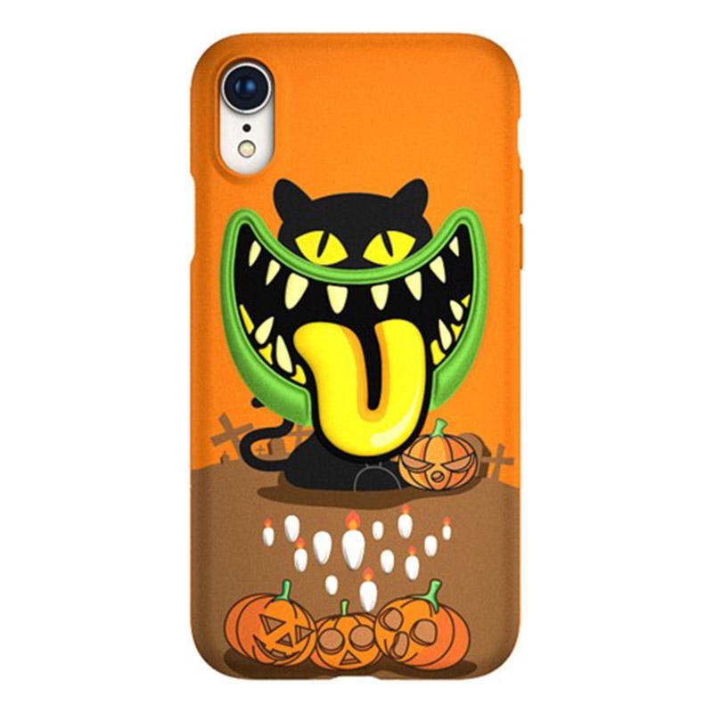 Switcheasy 怪獸系列 IPHONE XS MAX 3D保護殼 (南瓜燈)