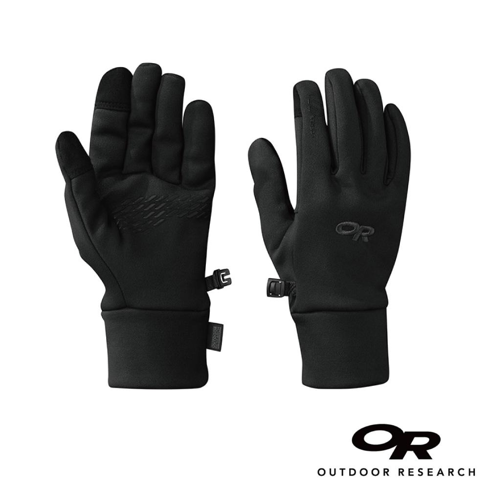 【美國Outdoor Research】黑色L-女款戶外多用途快乾保暖觸控手套