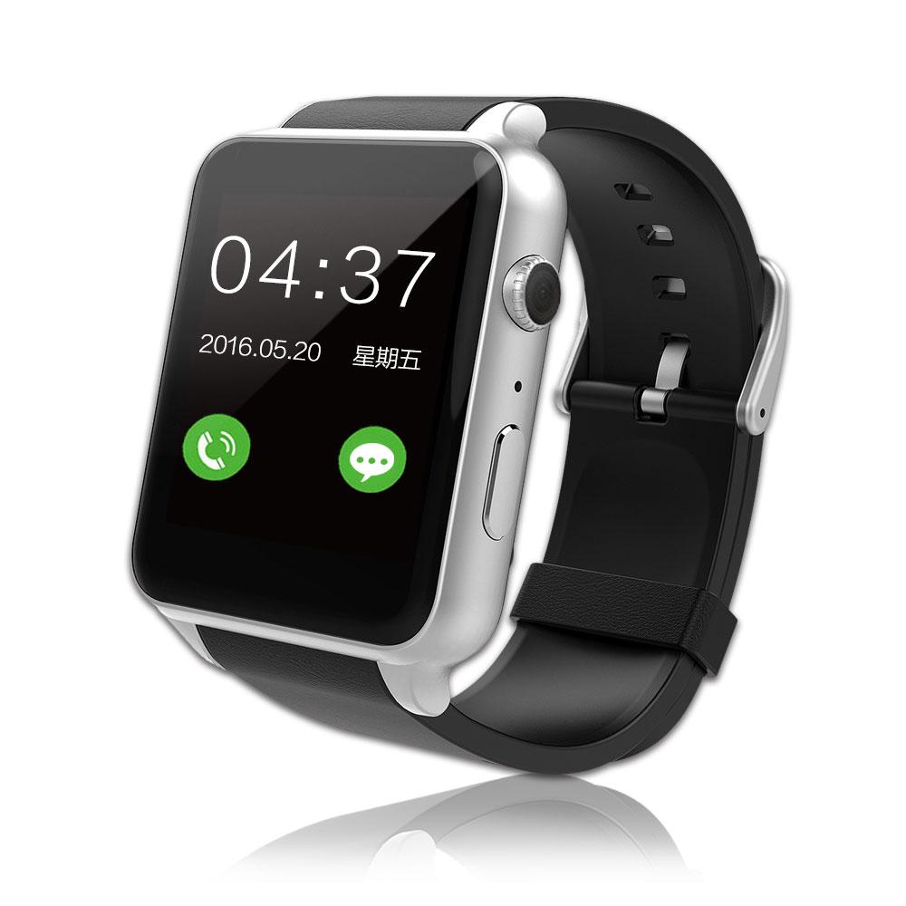 SmartWatch金屬質感智能心率手錶(IPS貼合屏技術)尊爵銀