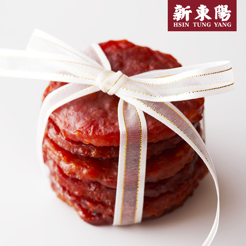 【新東陽】雪花金錢豬肉乾(200g*3包),免運