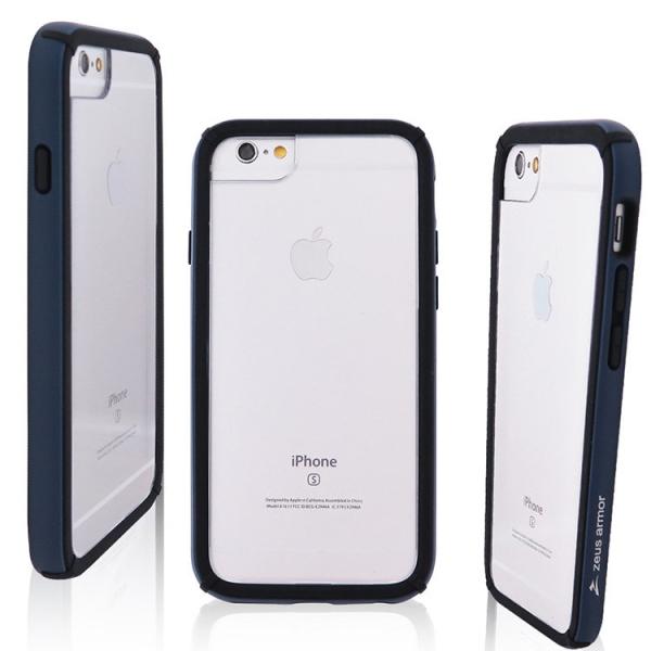 iPhone 6/ 6S/ 7/ 8 (4.7吋) 波塞頓系列 耐撞擊雙料防摔殼(深藍)