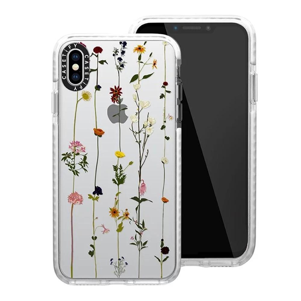 Casetify iPhone XR - 耐衝擊保護殼 - 小花串