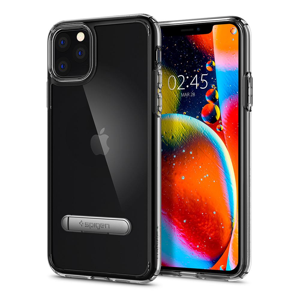 SPIGEN Ultra Hybrid S-立架軍規防摔保護殼 iPhone 11 Pro Max 6.5(2019) 晶透