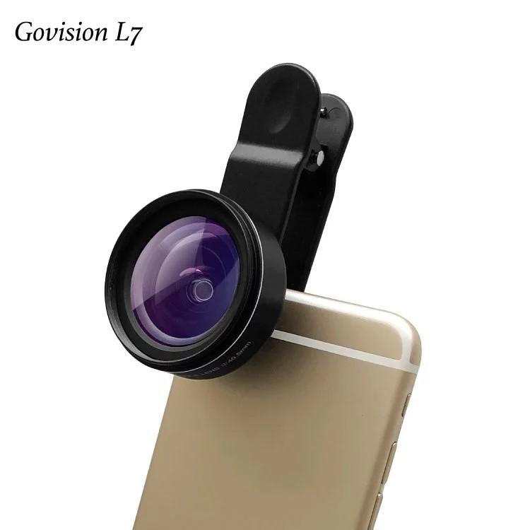 Bomgogo Govision L7 HD 零變形廣角手機鏡頭組(40.5mm)-AV054 (贈鏡頭專用清潔組,市價490元)