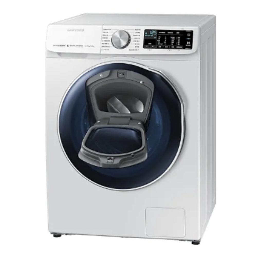 回函贈★【SAMSUNG三星】10KG 變頻滾筒洗脫烘洗衣機 WD10N64FR2W/TW